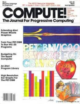 Compute! Magazine Issue #17 - October1981