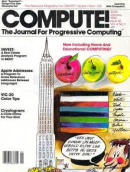 Compute! Magazine Issue #20 - January 1982