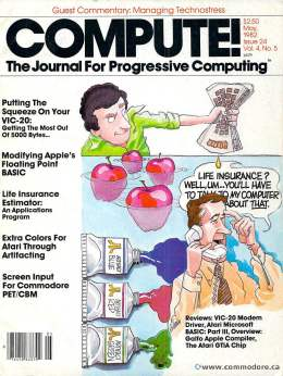 Compute! Magazine Issue #24 - May 1982