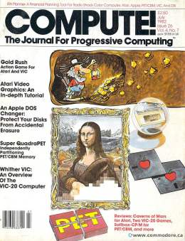 Compute! Magazine Issue #26 - July 1982