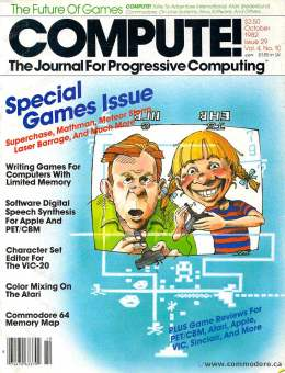 Compute! Magazine Issue #29 - October 1982