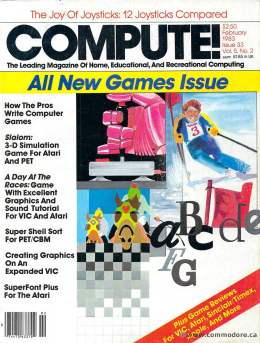 Compute! Magazine Issue #33 - February 1983