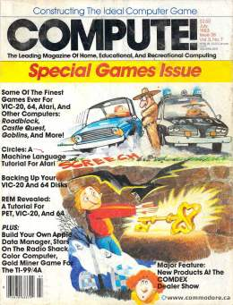 Compute! Magazine Issue #38 - July 1983