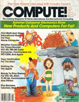 Compute! Magazine Issue #39 - August 1983
