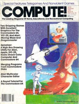 Compute! Magazine Issue #41 - October 1983