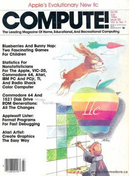 Compute! Magazine Issue #50 - July 1984