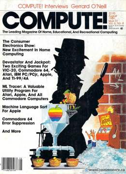 Compute! Magazine Issue #51 - August 1984