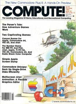 Compute! Magazine Issue #53 - October 1984