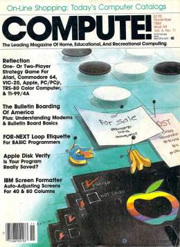 Compute! Magazine Issue #54 - November 1984