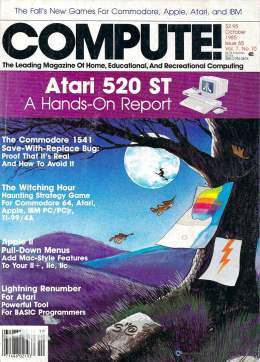 Compute! Magazine Issue #65 - October 1985