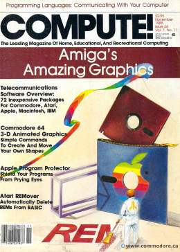Compute! Magazine Issue #66 - November 1985