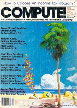 Compute! Magazine Issue #67 - December 1985