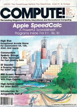 Compute! Magazine Issue #69 - February 1986