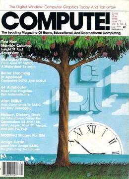 Compute! Magazine Issue #72 - May 1986