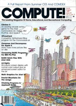 Compute! Magazine Issue #87 - August 1987