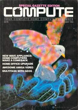 Compute! Magazine Issue #123 - August 1990 - Commodore 128 - Amiga - IBM PS1 - Apple - Amiga - Home Office