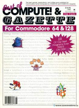 Best Of Compute! & Gazzette For Commodore 64 and 128 1988
