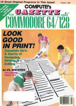Compute Gazette - Issue 76 - October 1989 -Publishing 64 vs Nintendo - Commodore VIC-20 64 128 Amiga