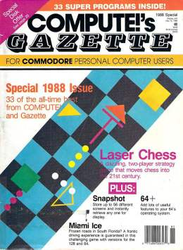 Special Issue - Compute Gazette - 1988 Commodore  64 128