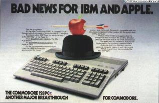 C128 - BAD NEWS FOR IBM AND APPLE