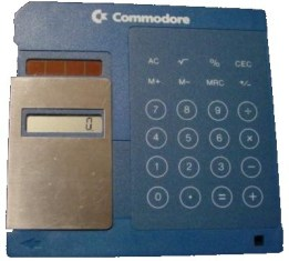 COMMODORE FLOPPY DISK CALCULATOR: There will be a computer in every, home, school and business years before anyone dreamed.