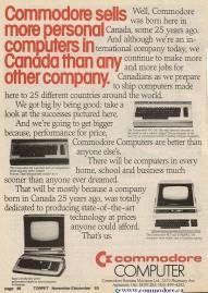 COMMODORE SELLS MORE COMPUTERS THAN ANYONE - TorPET Nov 1983