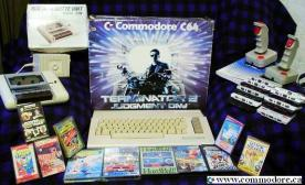 COMMODORE 64 TERMINATOR 2 RETAIL PACK: Well, the machine was exactly the same as the other late model Commodore 64C's but it had a Damn cool box!