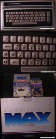 COMMODORE MAX MACHINE / ULTIMAX PROTOTYPE: For more information contact the former owner of a Max Machine danielbenson@hotmail.com