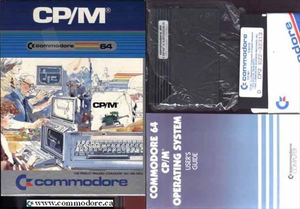 COMMODORE 64 CP/M OPERATING SYSTEM CARTRIDGE: This cartridge contains a Zilog Z80 CPU which allows Commodore 64 owners to run a vast amount of CP/M programs that were in existance at the time. Prior to 1982 (ish) CP/M was THE operating system. CP/M is an acronym for Control Program for Microcomputers and a re-written version of it became MS DOS. CP/M was written by Gary Kildall in then mid 1970's for Intel 8080 CPU's. The 8080 was cloned and improved upon by the man that invented the 8080 for Intel when he started Zilog and produced the Z80 CPU. The Z80 is found in many many many devices ranging from the Commodore 128 and the First Nintendo Game Boy. See our GALLERY, MAGAZINE article section for more CP/M information.