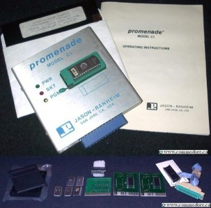 VIC-20 C128 EPROM PROGRAMMER: Very nice indeed! This tool allowed you to 'burn' your programs onto EPROM (Electronically Programmable Read Only Memory). The EPROM could then be placed into a cartridge which could be easily used like any other cartridge program.