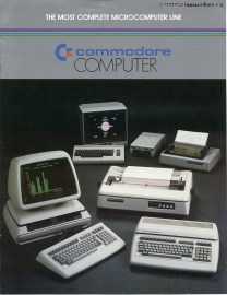 Complete Line of Commodore Canada Products from 1983