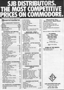 SJB COMMODORE PRICE LIST - Check out the Commodore B700 price. Compute! Aug 1983