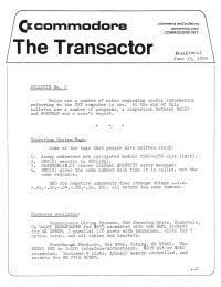 The Transactor Vol 1 02 1978