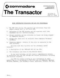 The Transactor Vol 1 03 1978