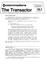 The Transactor Vol 2 09 198?