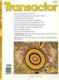 The Transactor Vol 9 03 1989