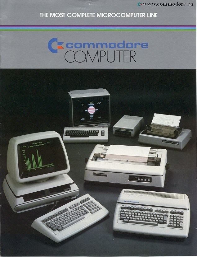 Commodore PET – The Worlds First Personal Computer