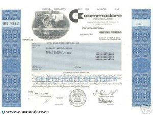 commodore-share-certificate