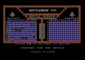 Commodore 64 Battleship