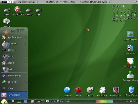 Amiga su PC - Amikit