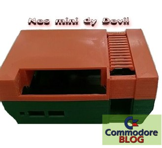 Case Nes Mini stampato in 3D