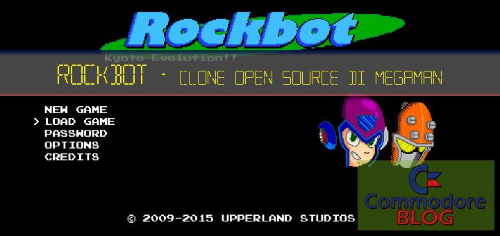 Rockbot - Clone Opensource di Megaman