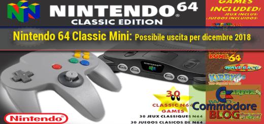 N64 mini - Immagine non ufficilale