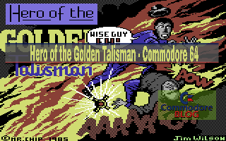 Hero of the Golden Talisman - Commodore 64