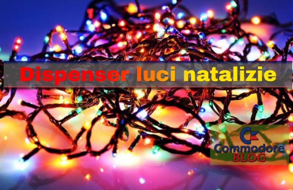 Dispenser luci natalizie
