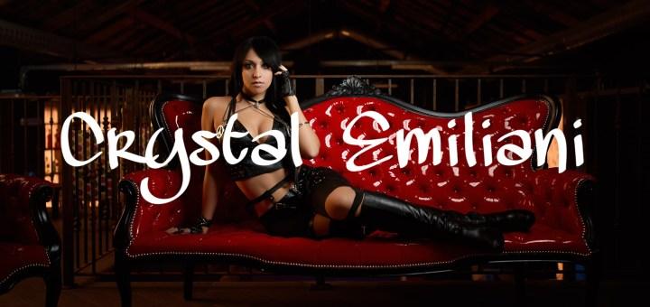 Crystal Emiliani copertina