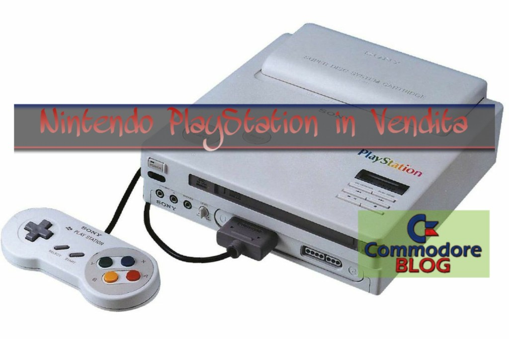 Nintendo PlayStation in vendita
