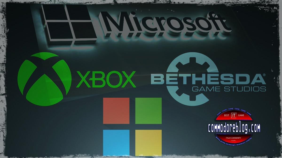 Microsoft compra Bethesda, annuncio shock