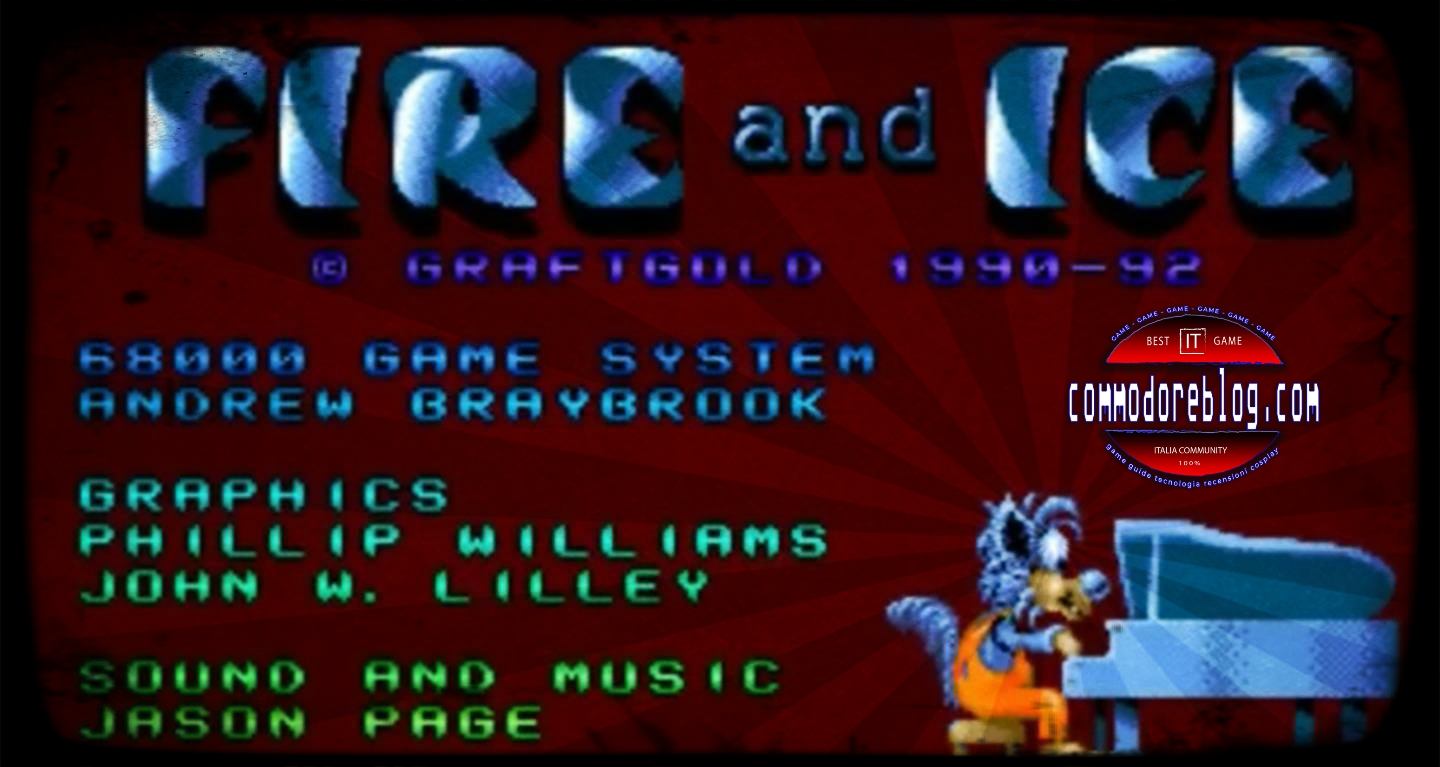 Fire and Ice per Amiga