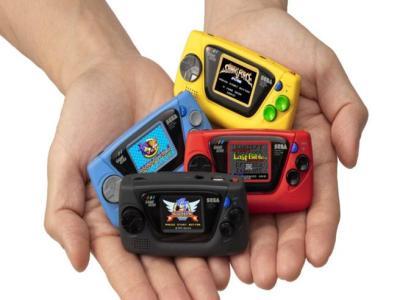 Game Gear micro in tutte le colarazioni